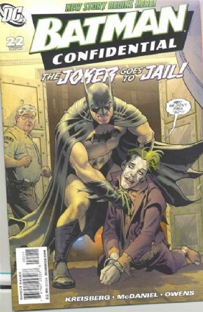 Batman Confidential #22 (2008) DC comic book